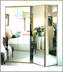 mirrored sliding closet doors door cost installing wardrobes wardrobe folding 72 x 80
