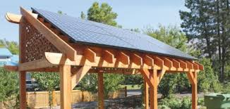 pv pergola home power magazine pergola mounted solar electric array