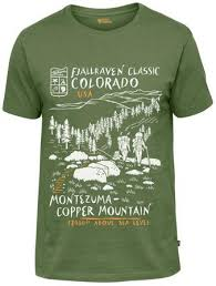 <b>Fjallraven</b> - Легкая мужская <b>футболка Classic</b> US T-Shirt - купить ...