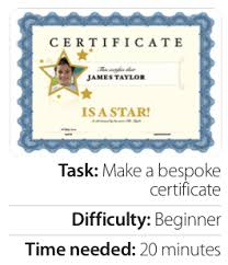 certificate template pages how to use pages to make a gift certificate tutorial gadget magazine