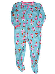 Carters Sleepers Size Chart Amazon Com Carters Girls Infant Toddler Princess Castle