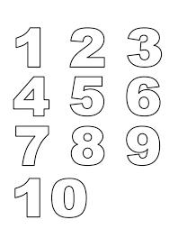 Disegni Da Stampare Gratis Con Disegno Numeri Disegni Da Colorare E