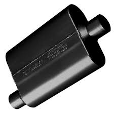 Flowmaster Loudness Chart Flowmaster 42441 40 Series Muffler 2 25 Offset In 2 25 Center Out Aggressive Sound