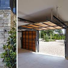 tilting garage doors wooden manual automatic