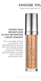 urban decay skin weightless ultra definition liquid makeup