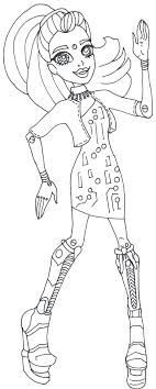 Elle Eedee Monster High Coloring Pages