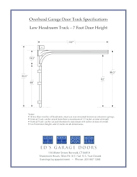 garage door sizes garage door header size chart innovative commercial garage door size chart intended for