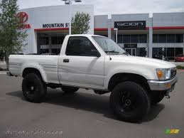 1991 Toyota Pickup Deluxe Regular Cab 4x4 in White - 042155 ...