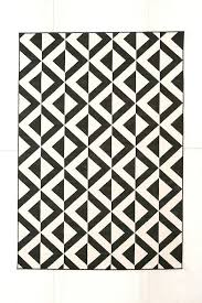 optic diamond rug urban outfitters white with black diamonds and
