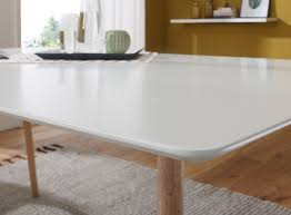 Finebuy Esstisch Holz Esszimmertisch Weiß Modern Holztisch Für