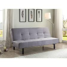 true innovations  position fabric futon gray  walmartcom