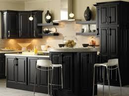 black painted kitchen cabinets ideas. Modren Cabinets Modern Black Painted Kitchen Cabinets Intended Ideas C