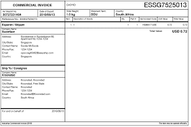 Commercial Invoice Required Documents To Include In Shipment Easyship