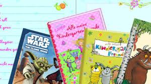 Freundschaftsbücher Im Kindergarten In Allen Vier Ecken Soll Liebe