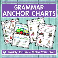 Anchor Charts In The First Grade Classroom Firstieland