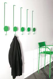 unique wall mounted coat rack with hooks cool and creative hook designs  bored panda racks