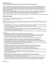 Resume With Business Management Sales Management Lewesmr