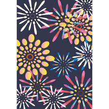 花火模様の背景画像 イラストデザイン素材背景 商用フリー無料