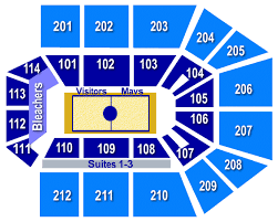 College Park Center Seating Chart College Park Center The Rusty Maverick