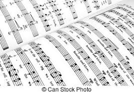 blank sheet music book blank sheet of old music book stock images search stock photos