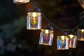 Multi Colored Solar Led Outdoor String Lights Set Of 100 Outdoor