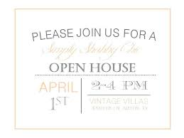 Invitation To Open House Sample Business Open House Invitation Open House Invitation Holiday