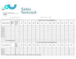 Free 4 Year Sales Projection Template For Excel 3 Profit