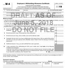 dividend and self employment ine the irs has indicated that they will advise employers to make the 11 page w 4 instruction booklet available to