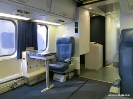 Amtrak Acela Express First Class Washington D C Was To