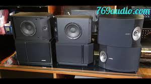 Giải pháp nâng cấp dàn karaoke gia đình loa bose - bose 301 seri 5