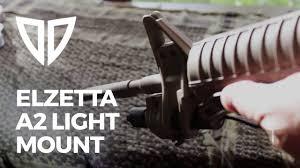 Ar 15 Front Sight Post Light Mount Elzetta Ar15 A2 Flashlight Mount Install Zfh1500