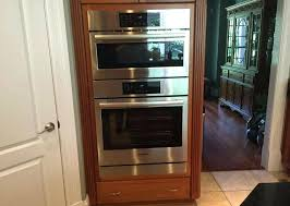 double wall oven pro line appliance replacing double wall oven with a single oven and a microwave double wall oven cabinet depth