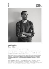 works omer arbel. Tomorrow (May 30th) Inform Interiors:: Conversation \u2013 Omer Arbel Works