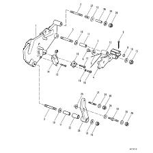 Genuine mercury mercruiser parts shift bracket use with alpha one