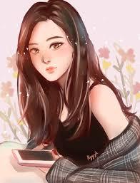 Drawing anime characters can seem overwhelming, especially. Blackpink Rose Fanart Cartoon Rose Blackpink Rose Kpop Fanart