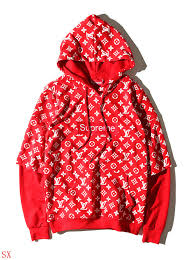 louis vuitton supreme hoodie. supreme \u0026 louis vuitton lv hoodies long sleeved for men san marino #321293 replica [$38.50] wholesale free shipping hoodie s
