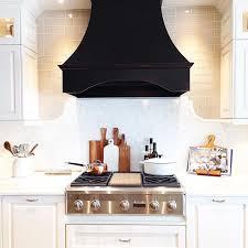 black range hood. Wonderful Hood White Kitchen  Black Range Hood LOOKS ABSOLUTELY AMAZING U0026 IS SO DIFFERENT  FROM MOST KITCHENS  TOTALLY LOVING THIS U0027LOOKu0027  For Black Range Hood