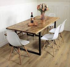 Image Vintage Image Etsy Industrial Dining Table Rustic Solid Kitchen Farmhouse Steel Etsy
