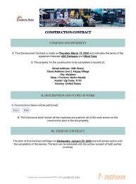 Permalink to Free Home Remodeling Contract Template : Home Improvement Contract Template 3 Free Templates In Pdf Word Excel Download – Here is what's in the contract for remodeling projects:
