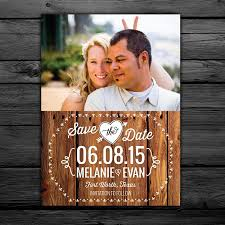 25 Rustic Save The Date Magnets Cards Printable Digital File