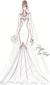 Celebrities Elegant Feminine Couture Bridal Gown
