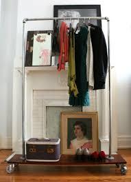 Plumbing Pipe Coat Rack Mesmerizing 32 Pipe Clothing Rack DIY Tutorials Guide Patterns