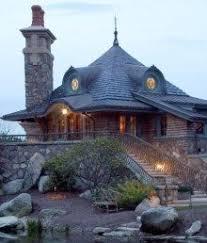 Storybook Cottage House Plans   Hobbit Huts to Cottage Castles hobbit house designs