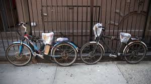 illegal e bike confiions continue as nyc steps up enforcement am new york