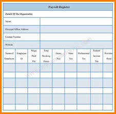Employee Payroll Template 24 Payroll Ledger Template Simple Salary Slip 17