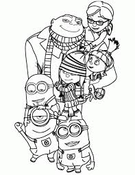 Small Picture Coloring Pages Awesome Minions Coloring Pages Wecoloringpage