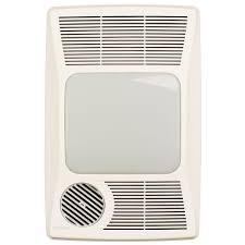 Broan Heater Light Fan Broan Nutone 100hl Directionally Adjustable Bath Fan With Heater And Incandescent Light