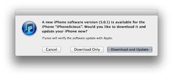 iphone 4s update software download