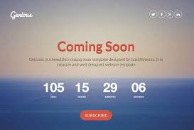 countdown templates 25 best coming soon html templates for free download and premium
