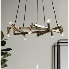 nordal ceiling chandelier art deco solid brass loading zoom